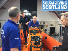 PADI RNLI Diver Sea Survival Speciality Scuba Diving Scotland