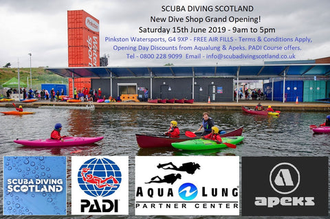 Scuba Diving Scotland Pinkston Watersports