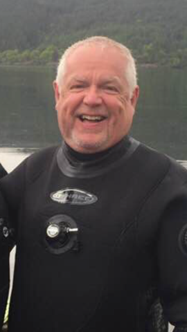 Scuba Diving Scotland Archie Young PADI Divemaster Trainee
