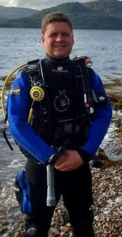 SCUBA DIVING SCOTLAND - Meet The Dive Team Profile Richard Seville