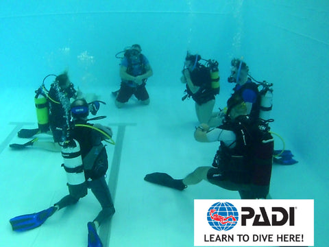 PADI Open Water Course Glasgow Edinburgh Scotland