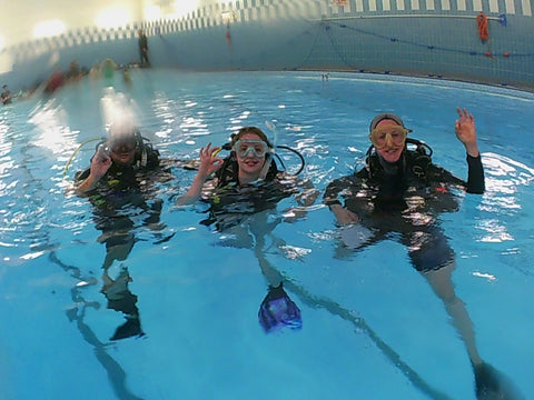 PADI Open Water Course Glasgow Scotland - SCUBA DIVING SCOTLAND