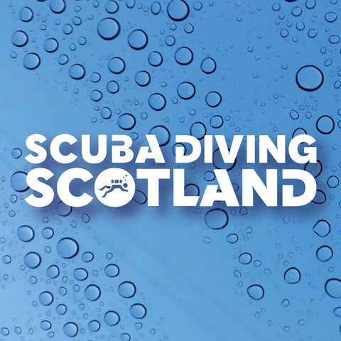 SCUBA DIVING SCOTLAND Logo