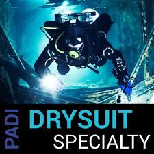 PADI Drysuit Speciality Course