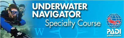 PADI Underwater Navigation Speciality