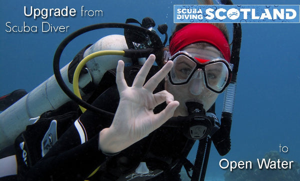 PADI Scuba Diver to Open Water Diver Upgrade