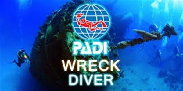 PADI Wreck Speciality Course
