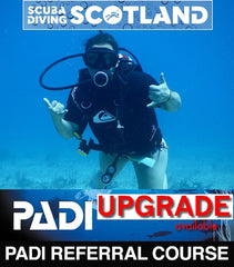 UPGRADE - PADI Open Water Referral to Full Open Water Course