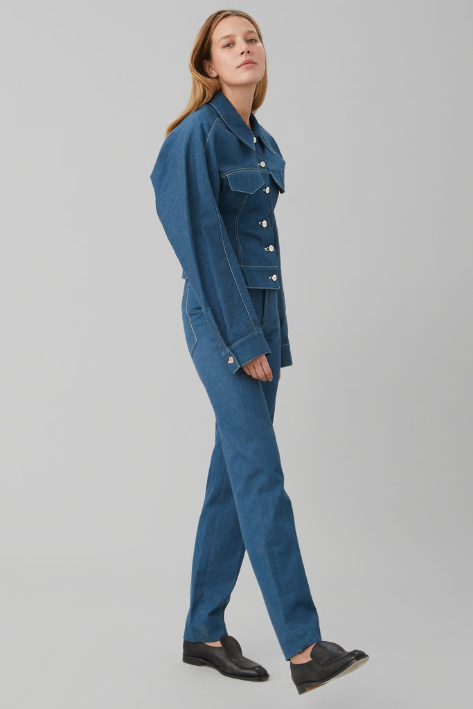 5-Pocket Jean in Ringspun Denim
