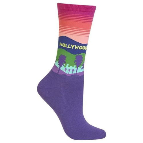Women's Hollywood Crew Socks