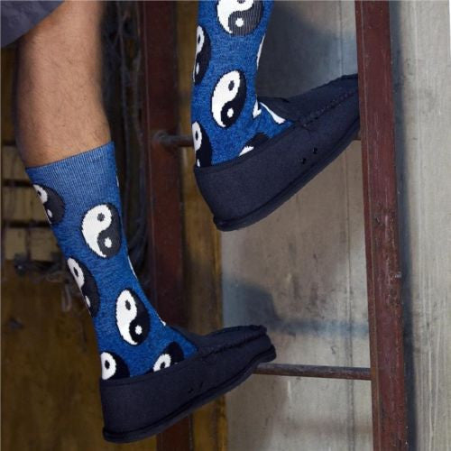Men's Yin Yang Athletic Crew Socks