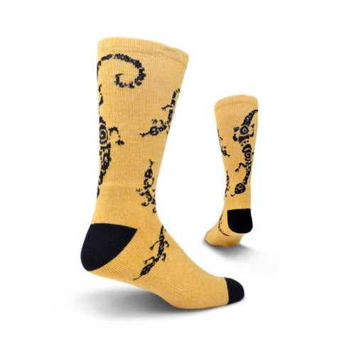 Men's Lizard Athletic Crew Socks