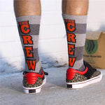 Men's Tri Multi Athletic Crew Socks