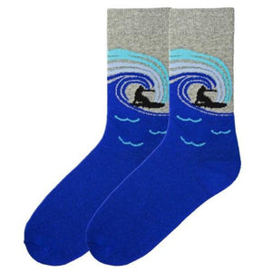 Men's Surf's Up Crew Socks