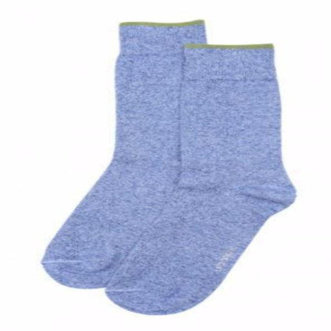 Men's Linen Blend Crew Socks