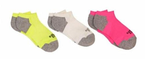 Women's Golds Gym No Show Socks
