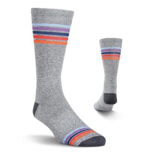 Men's Stripe Athletic Crew Socks