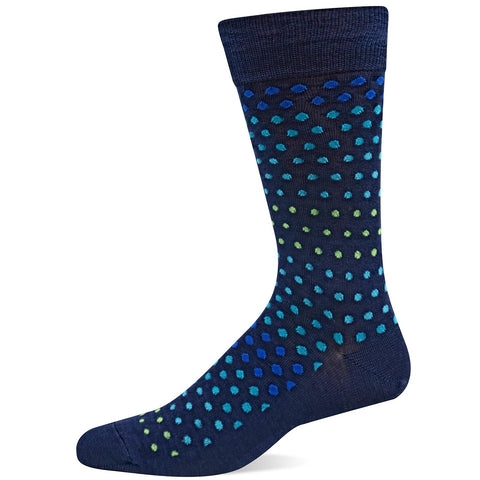 Men's Varigated Dot Socks