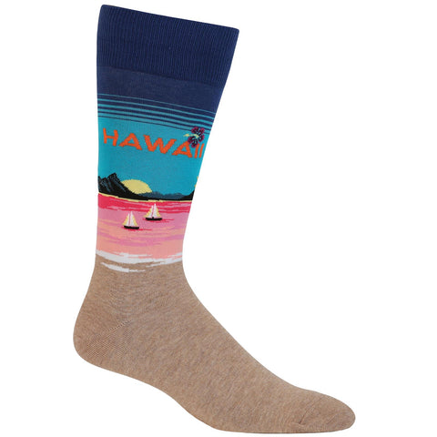Men's Hawaii Crew Socks