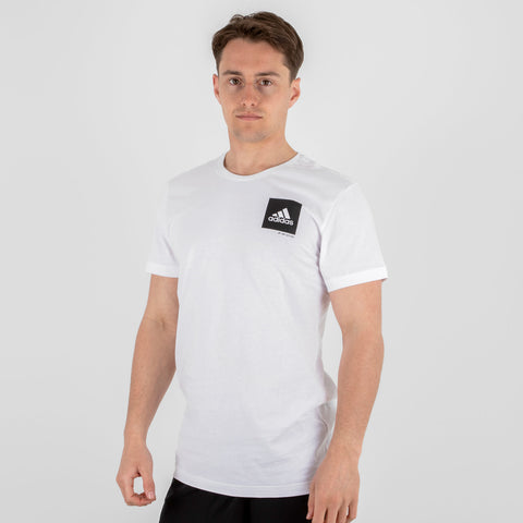 Adidas Confidental Short Sleeve Logo tshirt White & Black