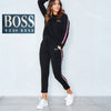 Womens Tracksuit Hoodies Pants Set Lounge Wear Sport Suit 6-20 Plus Size