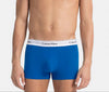 Calvin Klein 3 Pack Boxers Low Rise Trunk - blue