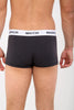 Markhor Mens Boxers 3 Pack, Men Underwear, Low Rise Trunk