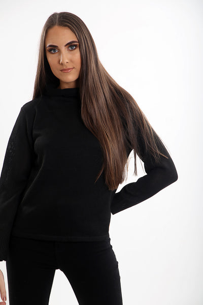 High Roll Neck Jumper (Five Colours)