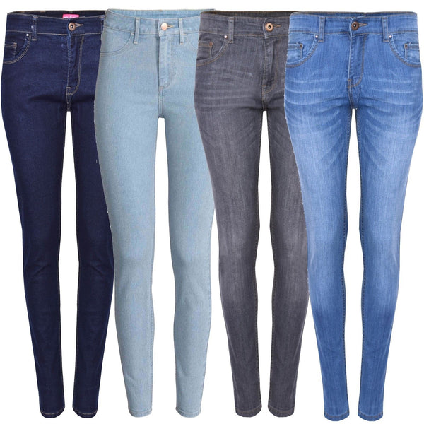Women Stretch Denim Cotton Pants