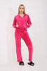Women velour tracksuits sets, New Women Full HOODED Ladies Velvet Velour Tracksuit Yoga Sport Jogging Gym Suit