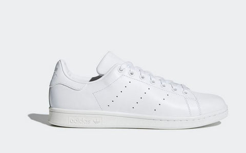adidas-Stan Smith Leather Sock Shoes-Unisex-Footwear White