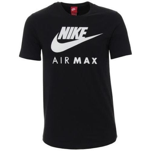 248212f61fd2 ... Nike men s Air Max Logo Crew Cotton T-Shirt ...