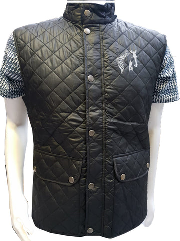 Pamir POLO Gilet Body Warmer Padded Quilted Mens Pockets Zip Lined Warm Winter