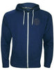 ISLAND New Men's Hoodie Fleece Zip Up Hoodie Jacket Sweatshirt Hooded Zipper Top