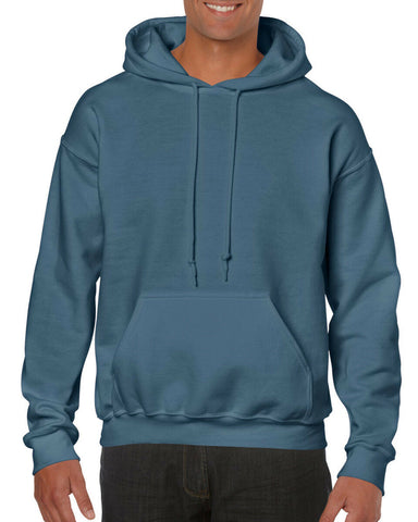 GILDAN Men's Heavyweight Hooded Sweatshirt Hoodie
