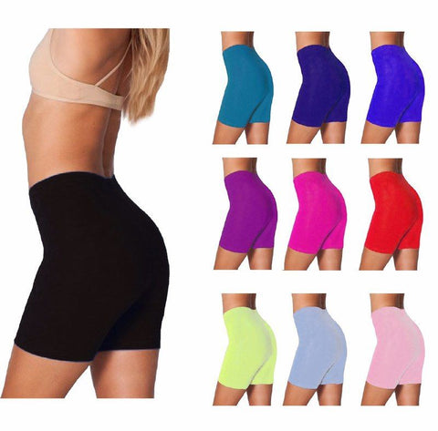 Women's Lycra Cotton Cycling Shorts