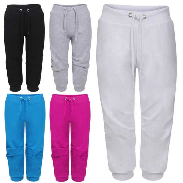 Women Casual Trouser Capri 3/4 Length Trouser Jogging Short