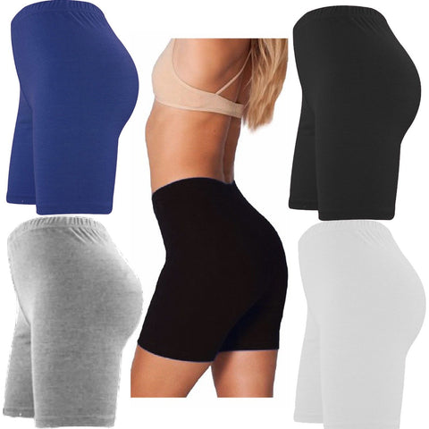 WOMENS ACTIVE CASUAL CYCLING SHORTS