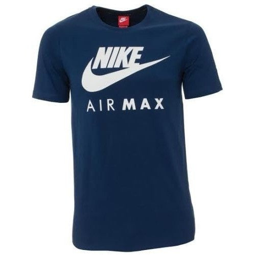 Nike Men 39 S Air Max Logo Crew Cotton T Shirt Tee