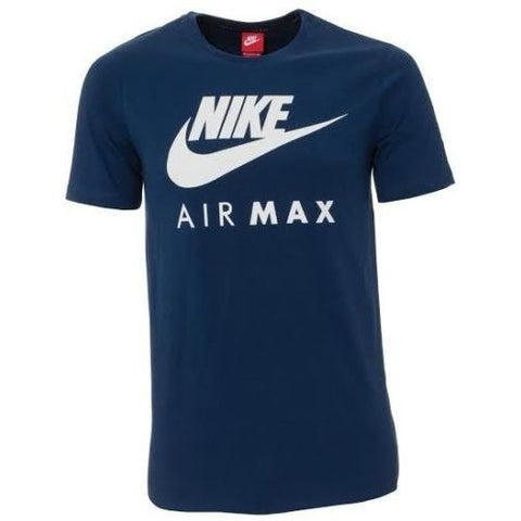 Nike men's Air Max Logo Crew Cotton T-Shirt