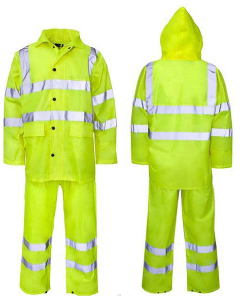 Result High-viz Waterproof RainSuit
