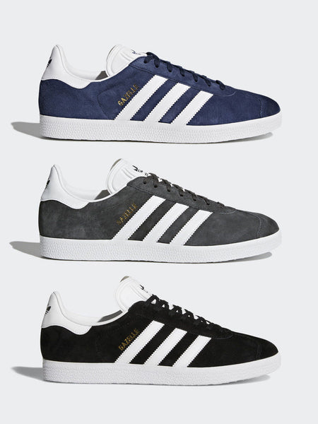 Adidas Originals Gazelle OG Mens Black Stylish Classic Athletic Trainers