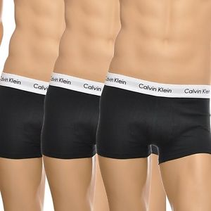 Calvin Klein 3 pack Boxers, Pack of 3, Black
