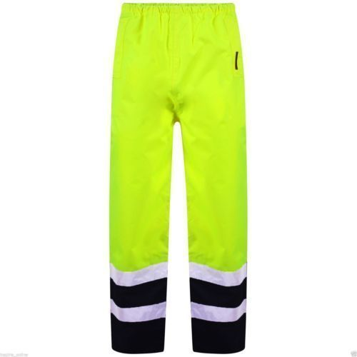 High-Vis Work Polyester Trouser