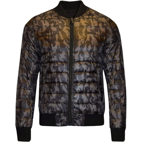 Men Jacket Winter Padded Quilted Jacket