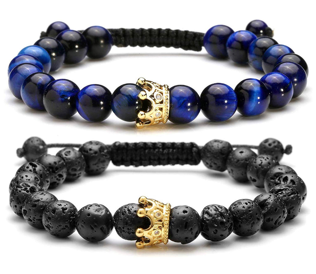 crown adjustable distance bracelets