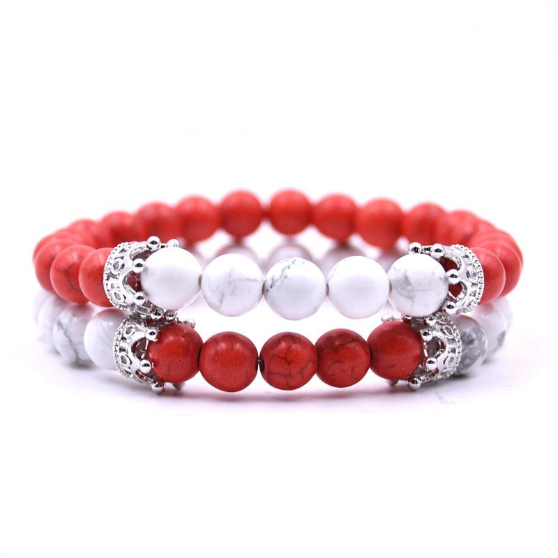 Noble Crown Distance Bracelets - Fire