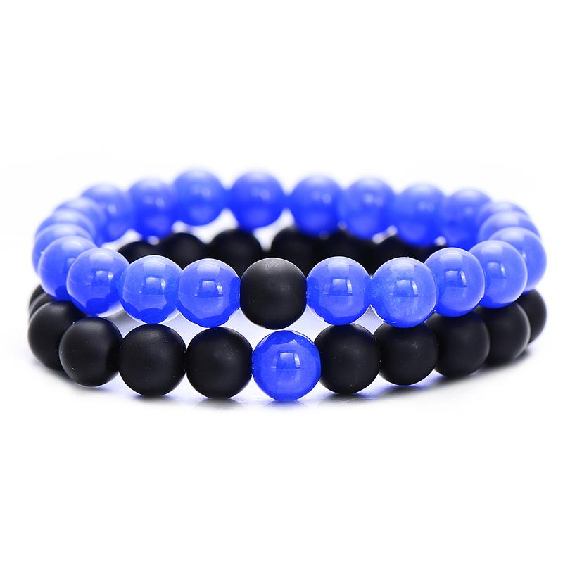 Royal Blue Distance Bracelets