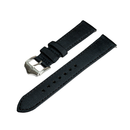 [PREORDER] Sailcloth Strap with Black Stitch