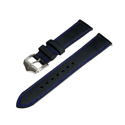 [PREORDER] Sailcloth Strap with Blue Stitch